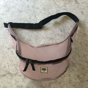 Opening Ceremony Bags - Opening Ceremony Pink Mesh Logo Fanny Pack